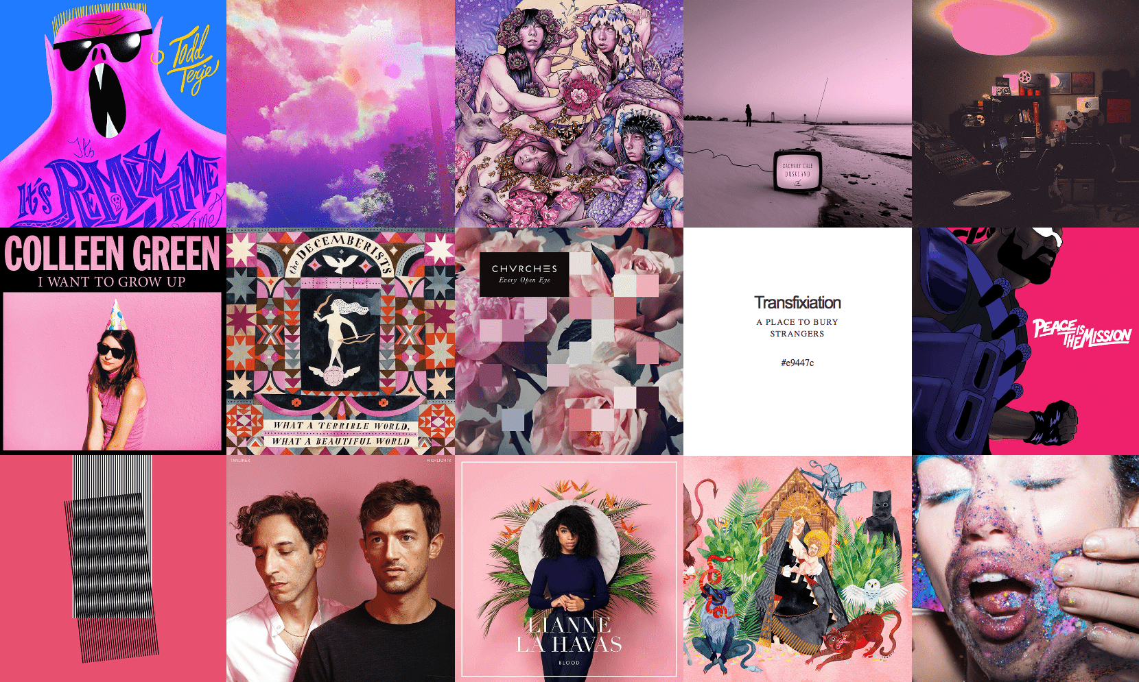 albums color-2