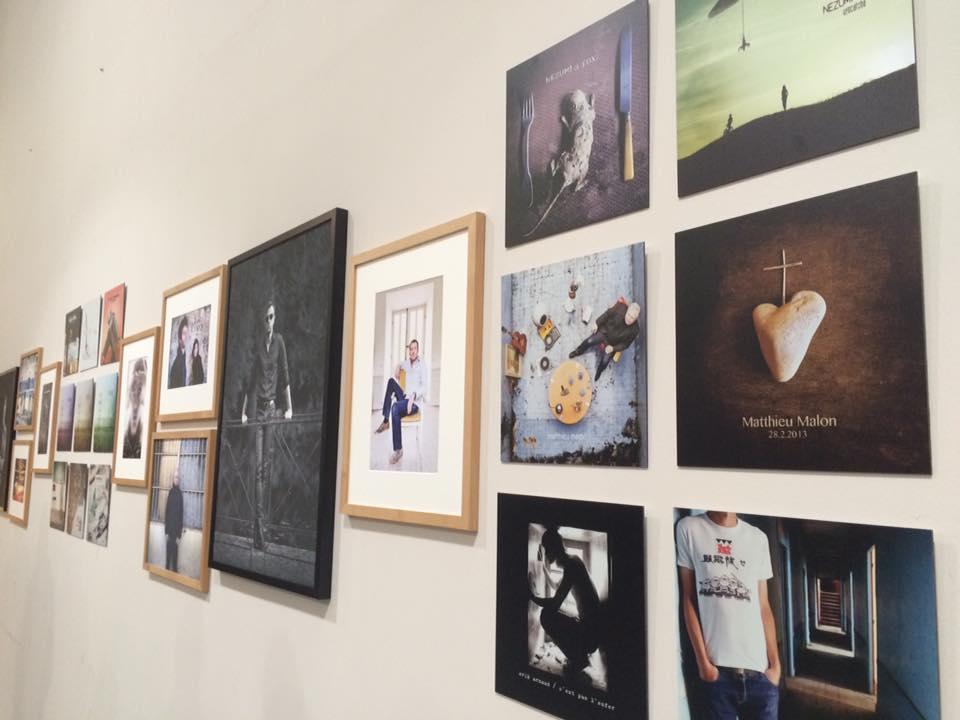 Exposition des travaux (photographies et artworks) de Stéphane Merveille