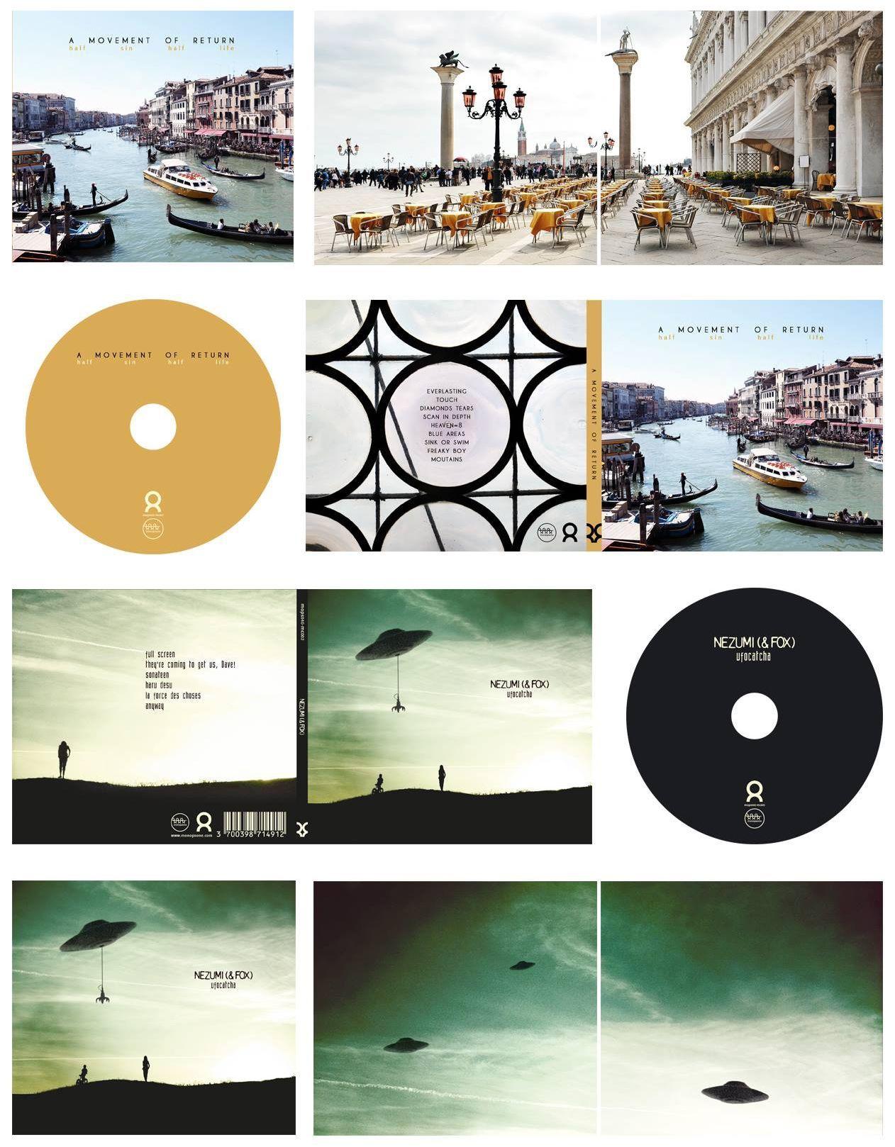 "Collection microcircuit — Artworks complets ""A Movement Of Return"" et ""Nezumi (& Fox)"""