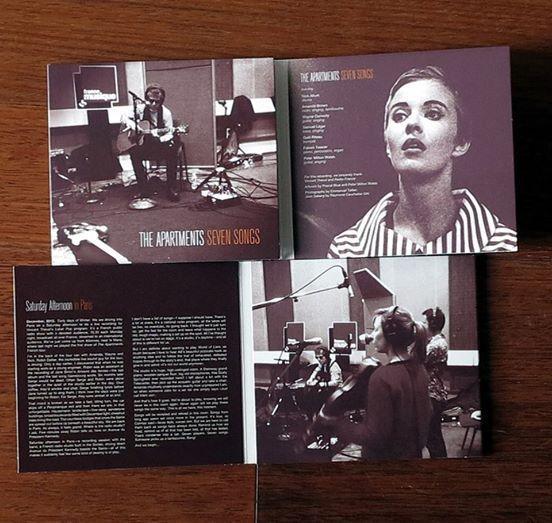 The Apartments «Seven Songs» disponible en CD