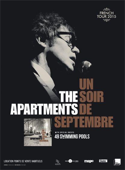 The Apartments en tournée
